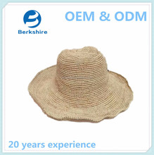 China high quality manufacturer unisex paper straw hat