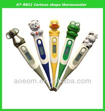 Cartoon shape digital baby thermometer promotional gift