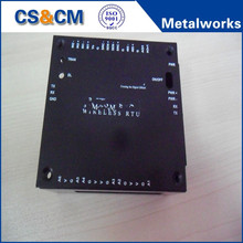 Black Anodizing Aluminum enclosure /Sheet Metal Processing Aluminum Control Enclosure
