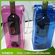 Fashion Cheap Wholesale PVC wine cooler bag