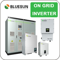 Bluesun long life use good rebate 2kw grid tie solar panel support system