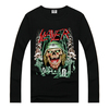 SLAYER long sleeve men shirt,branded t-shirt,t-shirt custom