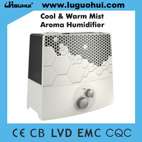 2016 Hot sale GH271 Big style Cool and Warm Mist Aroma Oil Humidifier
