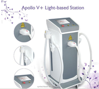 multi-function IPL beauty equipment laser for hair removal and acne removal