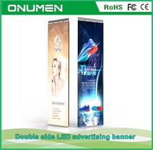 Top selling super slim led display banners for shopping mall
