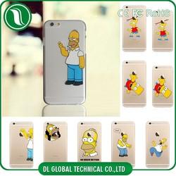 hard PC simpson case for iphone 6, simpson case for iphone 5, simpson case for iphone 4