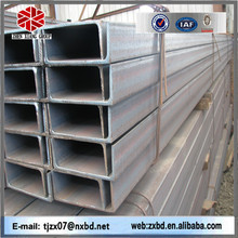 Factory produce ss400 u channel steel jis standard