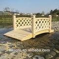 puente de madera jardín diseños