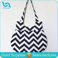 Factory Direct Sale Custom Chevron Shoulder Bag Zig Zag Print Shoulder Bag With Iphone Case