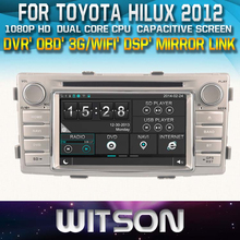 RADIO GPS FOR TOYOTA HILUX 2012 FRONT DVR CAPACTIVE SCREEN OBD 3G WIFI BLUETOOTH RDS
