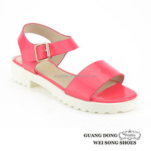 casual summer for girls comfort soft sole open toe slingback ankle buckle school sandal
