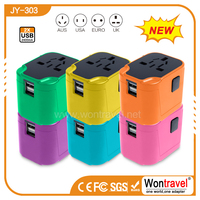JY-303 Home adapter with USB China travel adapter plug connector