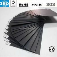 pressed black paper high quality board