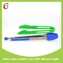 Food grade silicone & stainless steel plastic food clip
