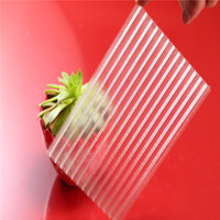 high transmission 100% Bayer Material Uv Coated Lexan Polycarbonate Sheet for awning