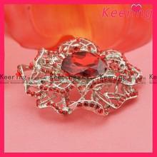 Elegant red cameo brooch setting WBR-1273
