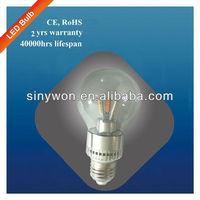 SYW 2013 Samsung chip E27 LED Bulb, SMD 5730 LED Bulb Light, 3W LED lighting bulb