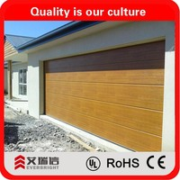 Aluminium Skin Sectional Garage Door Panels Sale