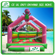 Cheap commercial funny trampoline inflatable bouncer house for sale , inflatable cartoon design bouncy castle from China