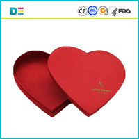 New products heart shape chocolate packaging box chocolate box chocolate gift box