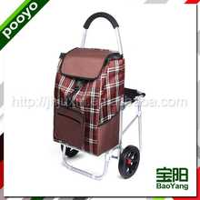 juxin foldable shopping cart expandable cotton tote bag