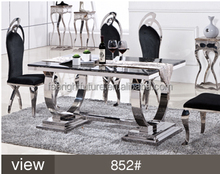 Stainless Steel Dining Table Legs Prices ,Table Dining 852#