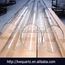 400mm clara tubo de cuarzo de fabricación china