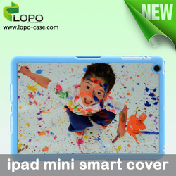 top sale smart cover custom blank 2D sublimation rinting for ipad mini