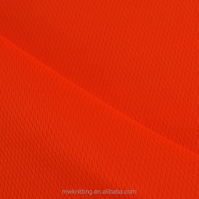 polyester bird eye mesh net fabric for sports wear, football wear