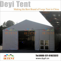 15x50m Prefabricated Aluminum Structure Tent, Big Tent for Warehouse, Industrial, Storage, Workshop