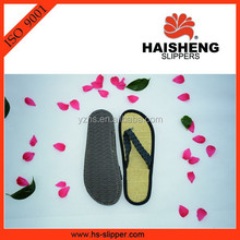 straw flip flop slippers