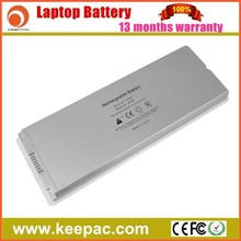 Laptop battery replacement for APPLE MacBook 13 A1185 (With Plastic case)