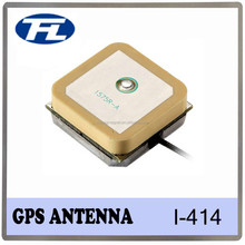 Low noise 25mm Square Ceramic GPS Patch antenna