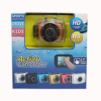 New Product Cheap Waterproof Mini HD Car DV Action camcorder F5 Support TF Card
