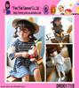 2015 Fashion Child Baby Dress Model New Model Stripe Child Baby Dress Model