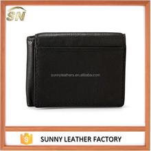 credit card holder purse men smart cow hide leather wallet