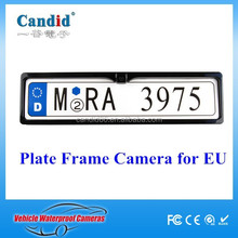 High quality Eu License Plate Frame Rear View Camera