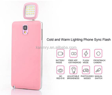 2015 new product ideas LED flash for all smart phone (android, ios wp systems), DSLR, PC, PAD sports cameras