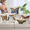 European Classical Style Hand Painting Simple Image Butterfly Drogonfly Animal Whosale Cushion/Pillow Covers