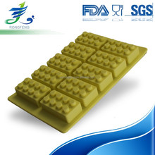 High Quality Lego Ice Molds, Silicone Ice Cube Tray, Multi-function Silicone Lego Ice Cream Mold