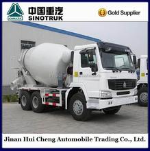 white HOWO concrete mixer truck 290HP mixer truck