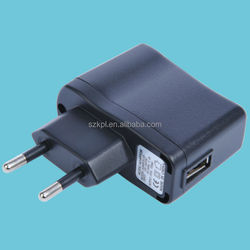 Black shell usb cable switching power phone travel charger/ 5V 1a 2a /CCC CB GS CE level