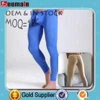 2014 Hot Sale Sexy Thermal Underwear Long Johns Underpants Cheap long underwear nylon mens long johns
