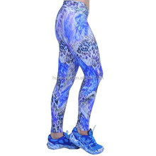 OEM Service Dry Fit Sublimation Colorful Yoga Pants women leggings / tights