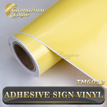 0.09mm Graphic Vinyl For Bus Wrapping Colorful Vinyl Adhesive