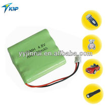 Ni-mh aaa 4.8v Rechargeable ni mh rechargeable batteries and battery packs