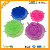 durable Feature and Smart Lids Type Silicone lid for bowl