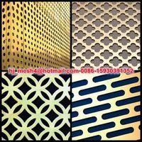 decorative perforated sheet metal panels