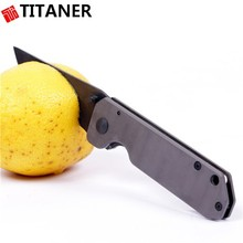 experience factory personal titanium knife safety rescue blade pocket ceramic knife
