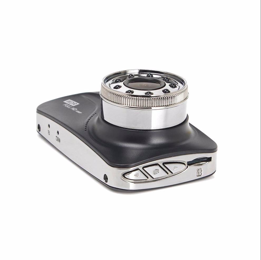 Full HD 1080 P Voiture DVR Avec Double Lentille caméra de recul 3 pouces d'affichage